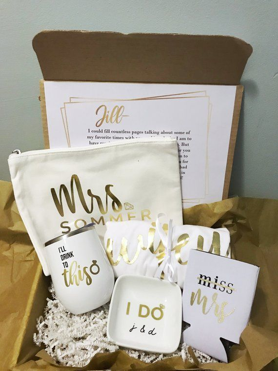 Engagement Gift Box Bride To Be Gift For Future Bride Future