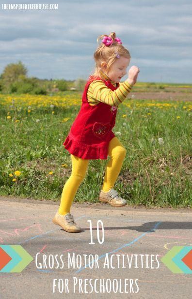 Gross Motor Activities For Preschoolers The Inspired Treehouse Gross Motor Activities Motor Activities Gross Motor