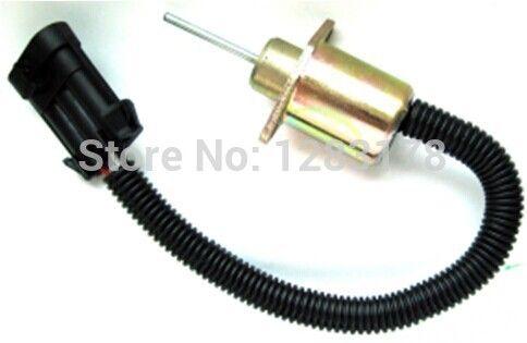 Bobcat Fuel Shut Off Solenoid S130 S150 S160 Skid Steer shut