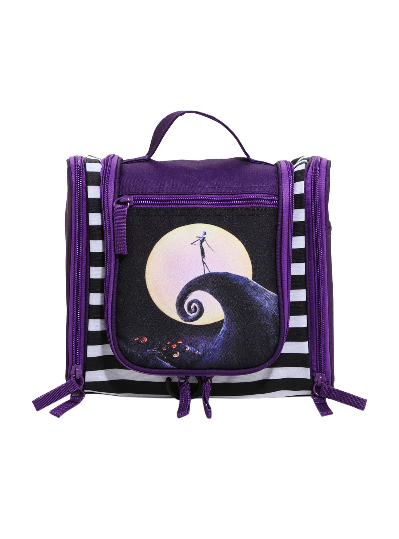 The Nightmare Before Christmas Jack Spiral Hill Makeup Bag