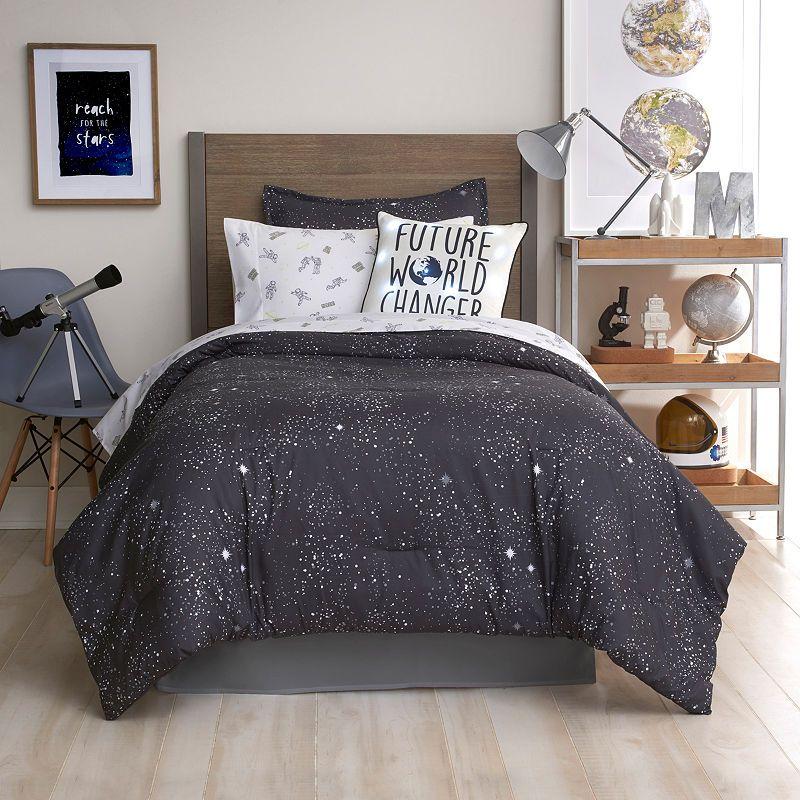 Frank And Lulu Glow In The Dark Astro Comforter Set Comforter