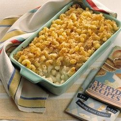 Baked Mac And Cheese With Sour Cream And Cottage Cheese Recipe Recipes Cottage Cheese Recipes Bake Mac And Cheese