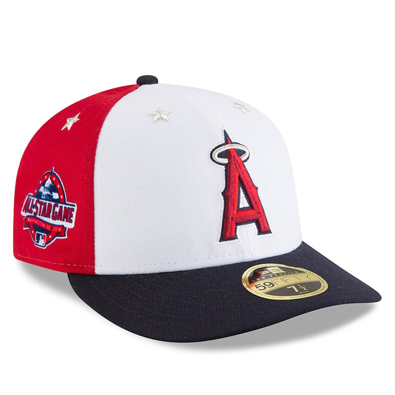 premium selection 98243 6f69b canada los angeles angels new era 2018 mlb all star game on field low  profile 59fifty