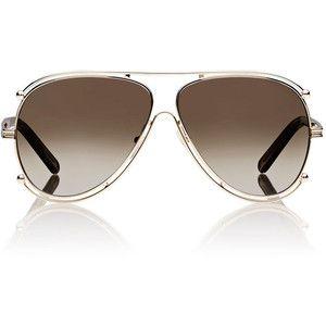 Chloé Isidora Aviator Sunglasses