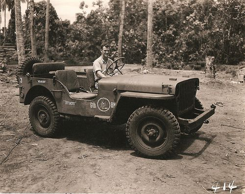 Seabees Jeep Named Bumby Old Jeep Military Jeep Willys Jeep