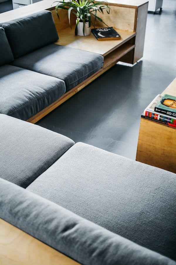 platzsparend ideen seats and sofas online shop, workspace inspiration: the everlane studio | everlane | pinterest, Innenarchitektur