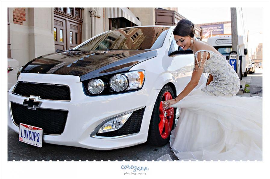 Car Wedding Dress