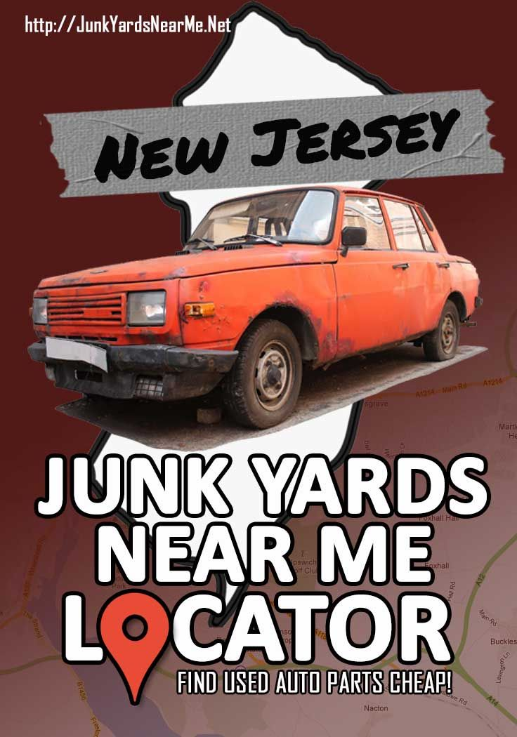 Junkyards in New Jersey in 2020 Used car parts, New