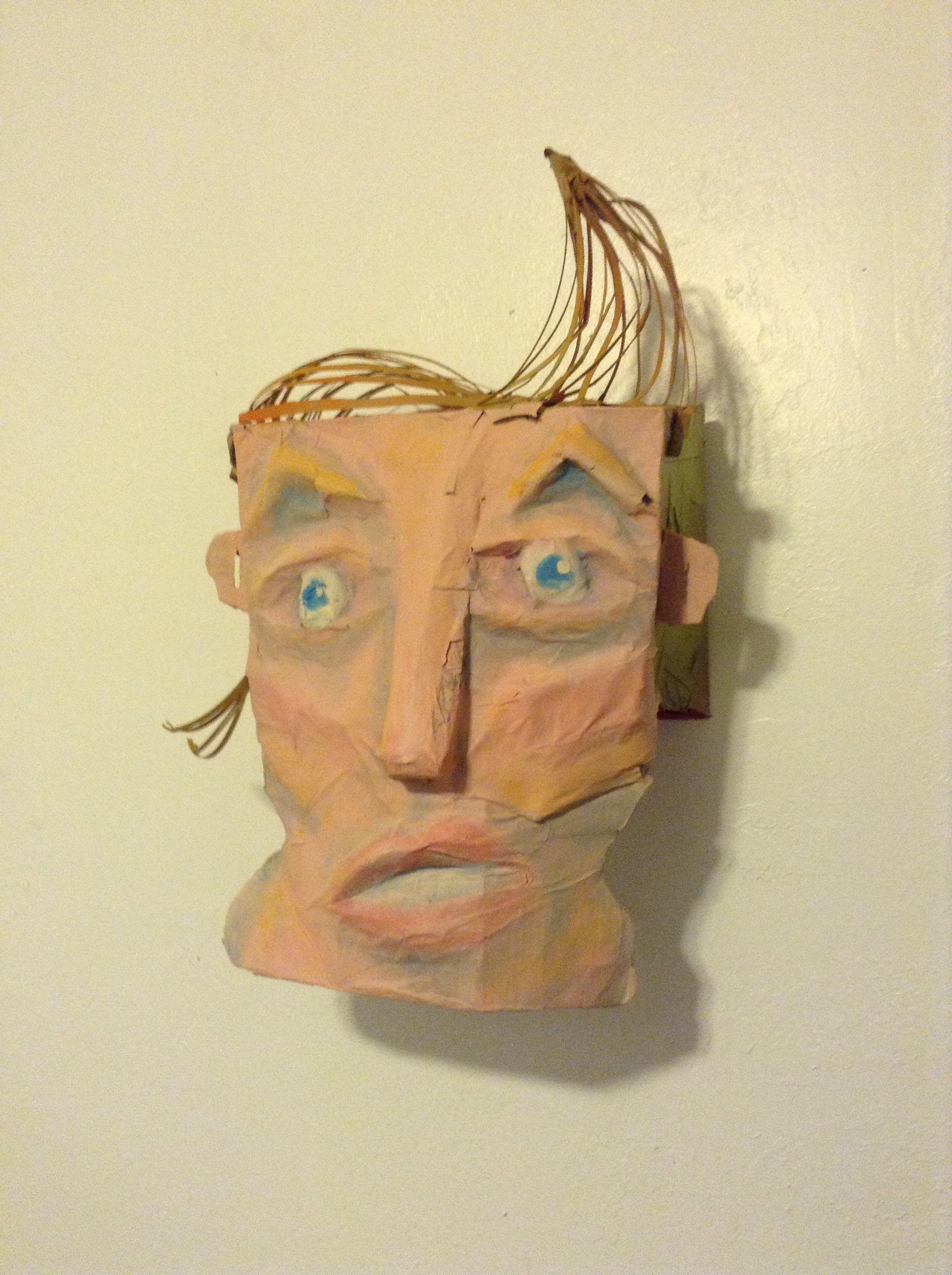 Cardboard Face- Johnny