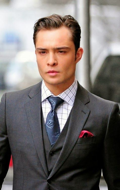 Great Suit   Suit in 2019   Chuck bass, Ed westwick ...