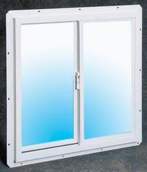 Single Sliding Utility Window White Vinyl 24x24 Trailer Remodel White Vinyl Windows Windows Doors