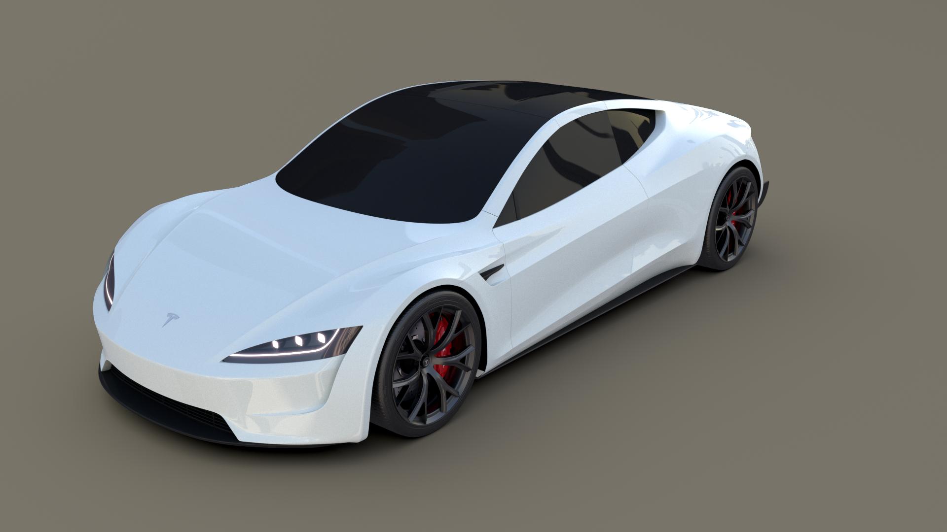 Tesla Roadster White Tesla Roadster Tesla Car Roadsters