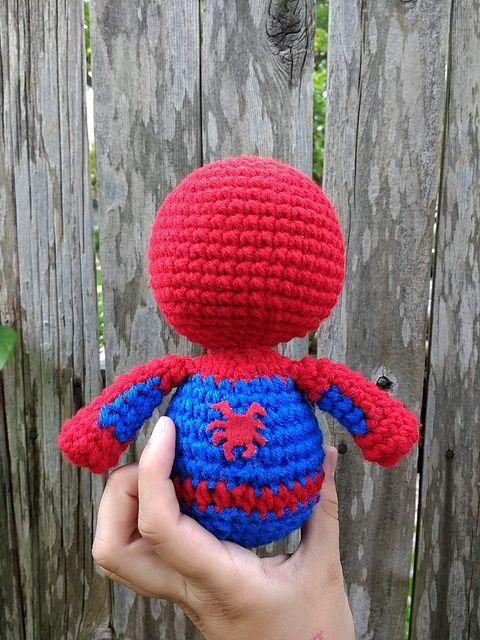 Spider-Man | Spiderman, Amigurumi patterns, Pattern