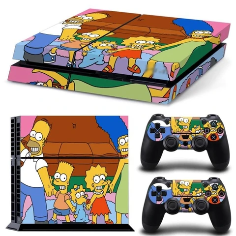 The simpsons PS4 Skin in 2020 Ps4 skins, Playstation 4