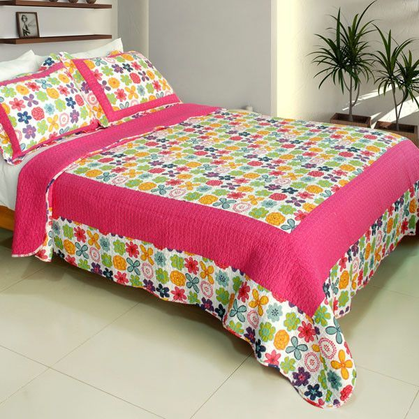 Simple Happiness Quilt Set (Full/Queen Size)