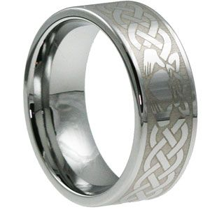 Clatter Flat Claddagh Rings With Images Claddagh Ring Wedding