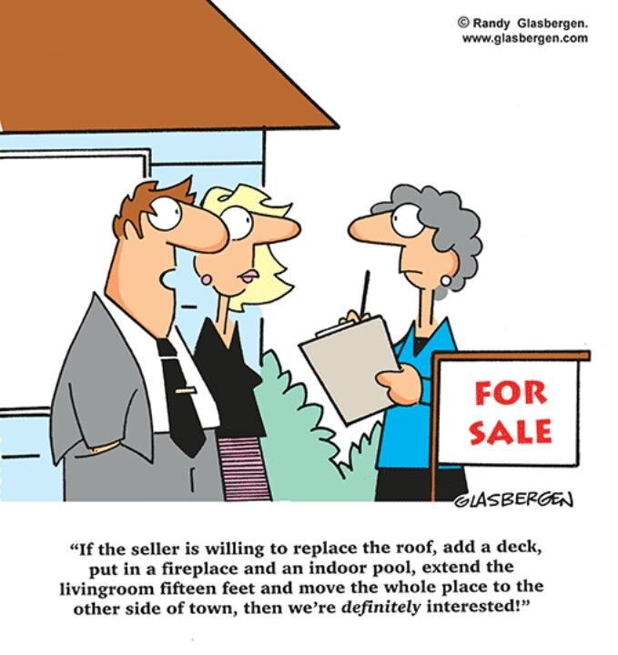 Best Buyer Demand Real Estate Humor Real Estate Fun Real 640 x 480