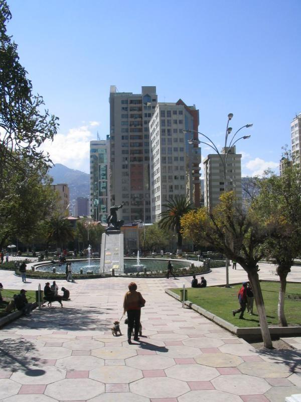 Plaza Eduardo Avaroa La Paz Bolivia Bolivia La Paz América Latina