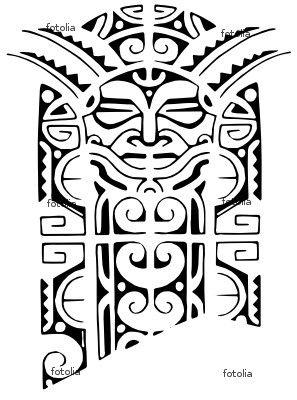 Inspired Design Tatuagens tattoo black maori Polinesien Polinesian
