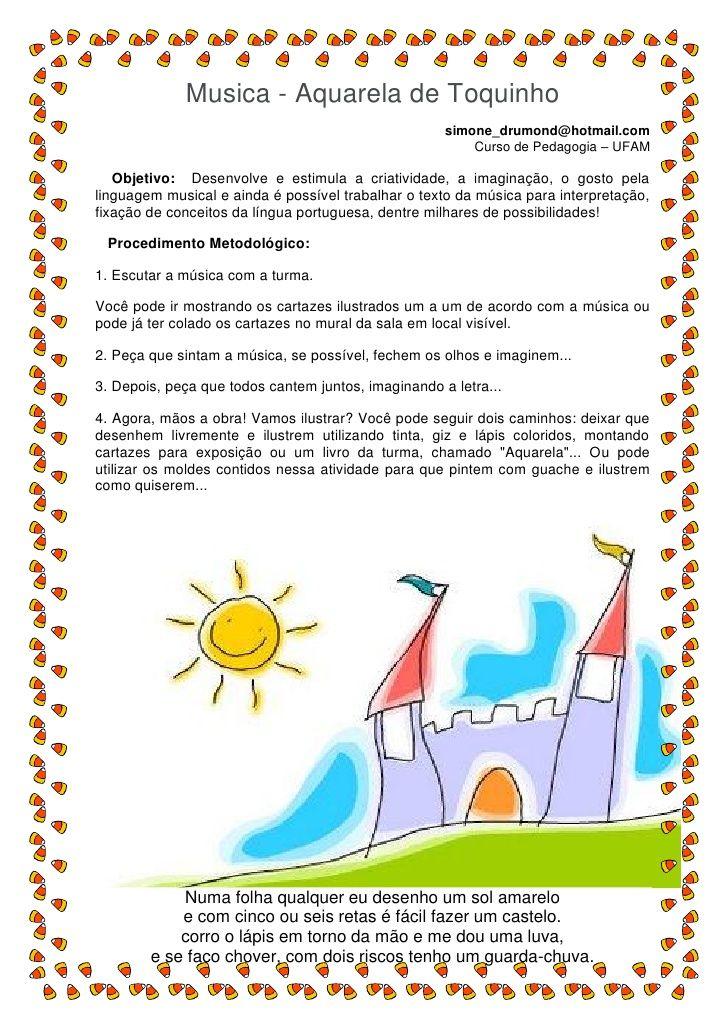 Musica Aquarela De Toquinho Simone Drumond Hotmail Com Com
