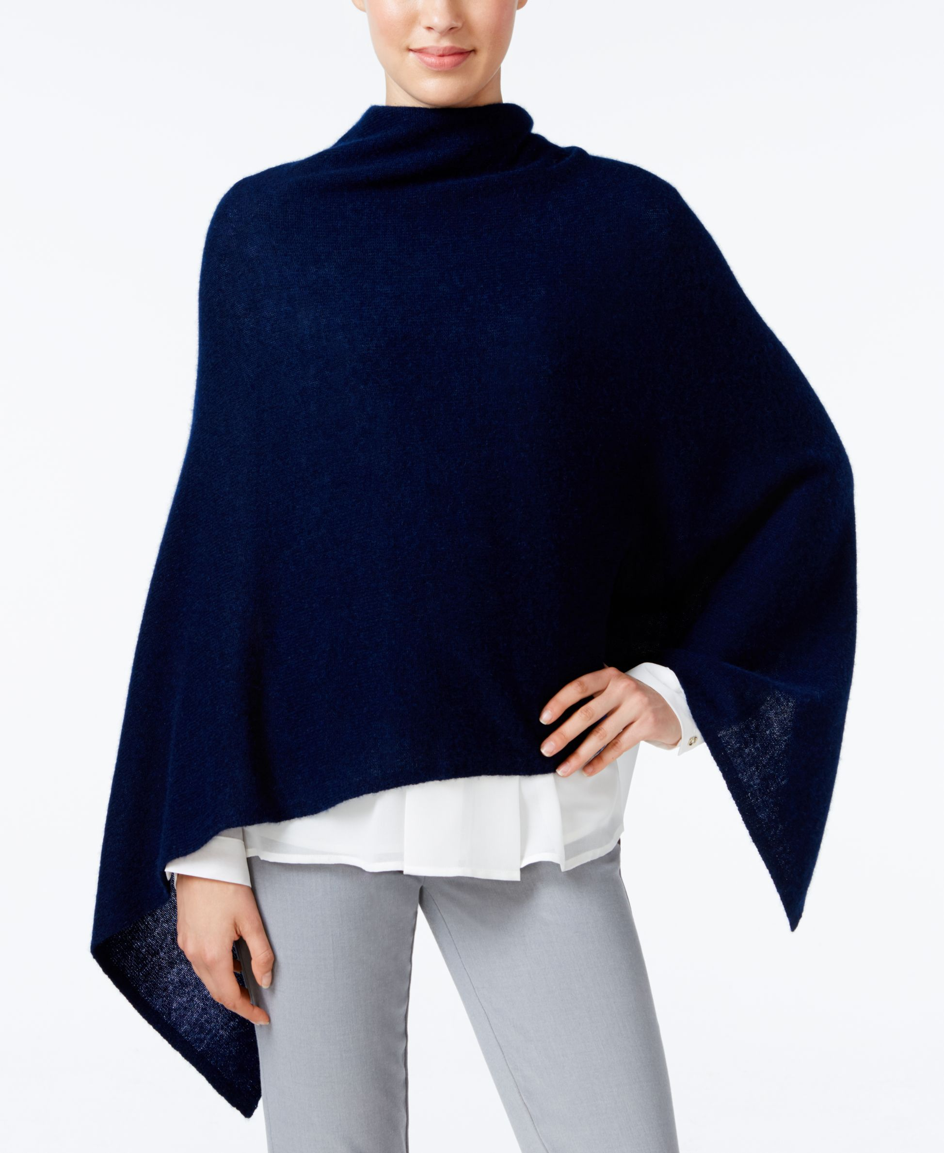 5fb976448 Charter Club Cashmere Poncho, Only at Macy's   Products   Cashmere ...