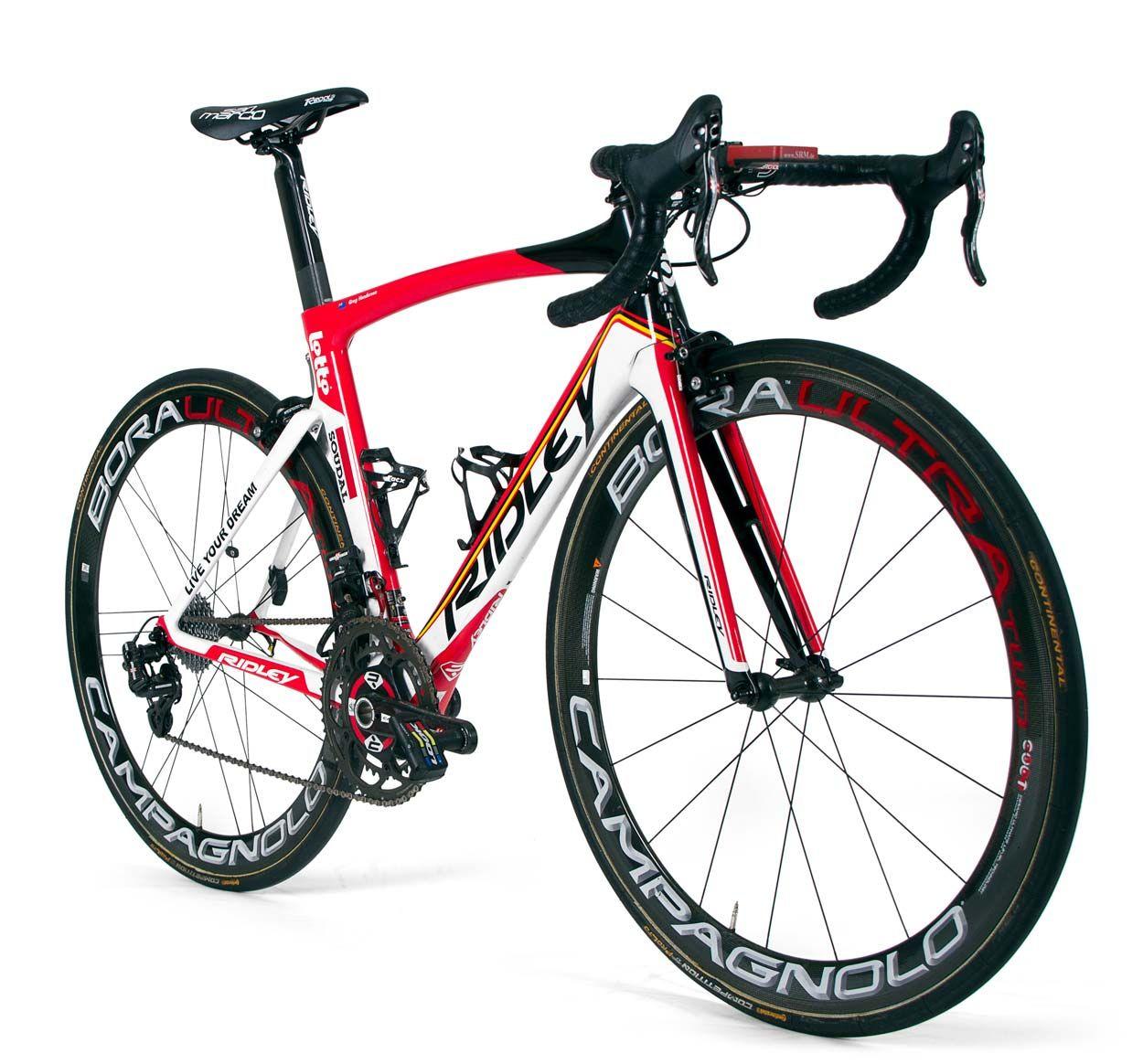 Team bike gallery – Lotto-Soudal of Ridley | Pinterest