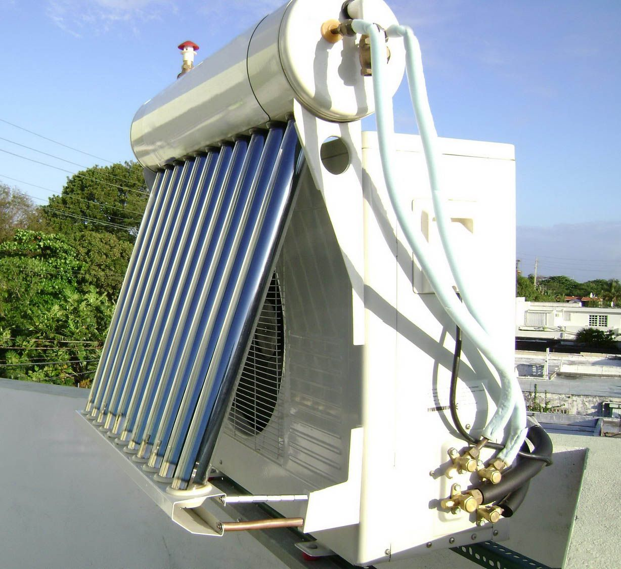 whats new in solar thermal hybrid air conditioners | inventions