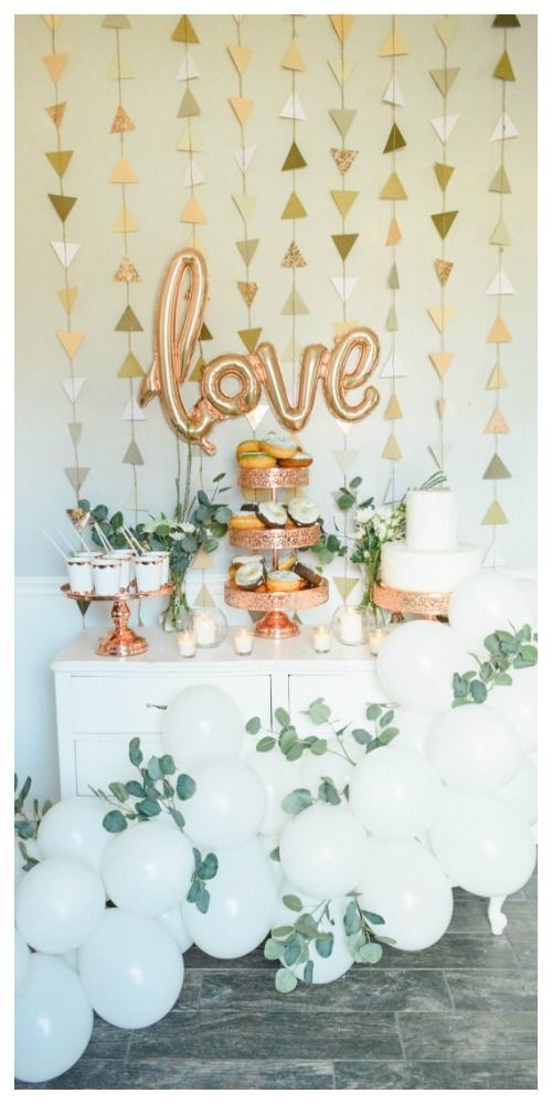 Rose Gold Bridal - Ashley's Dream Decor