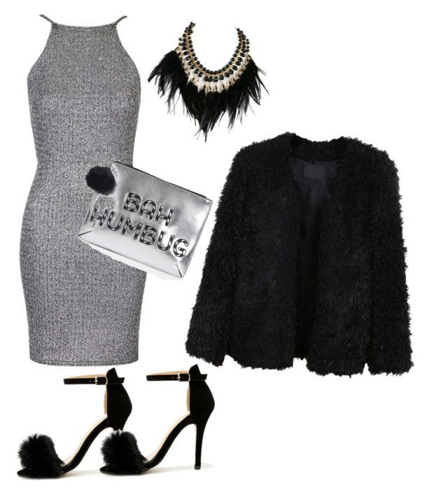 """""""Untitled #27"""" by lokardashian on Polyvore featuring Oh My Love, Chase & Chloe, Topshop, LE3NO and WithChic"""