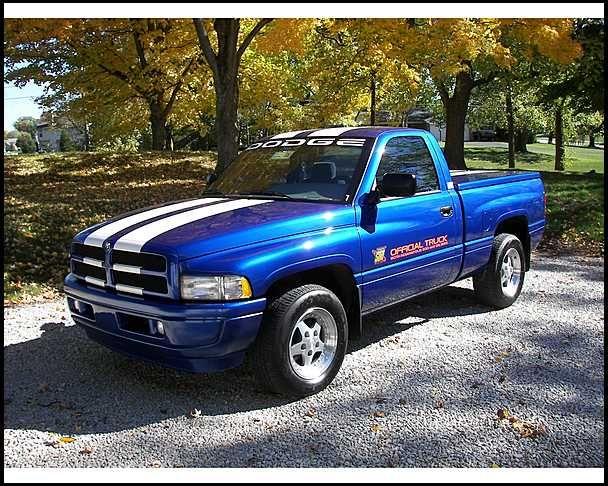 1996 Dodge Ram 1500 Pace Truck 5 9 V8 Dodge Ram Dodge Ram 2500 Dodge