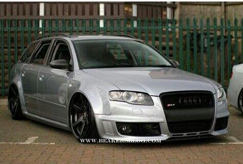 Silver Rsphwoah Audi Motor Audi Wagon Vw Wagon