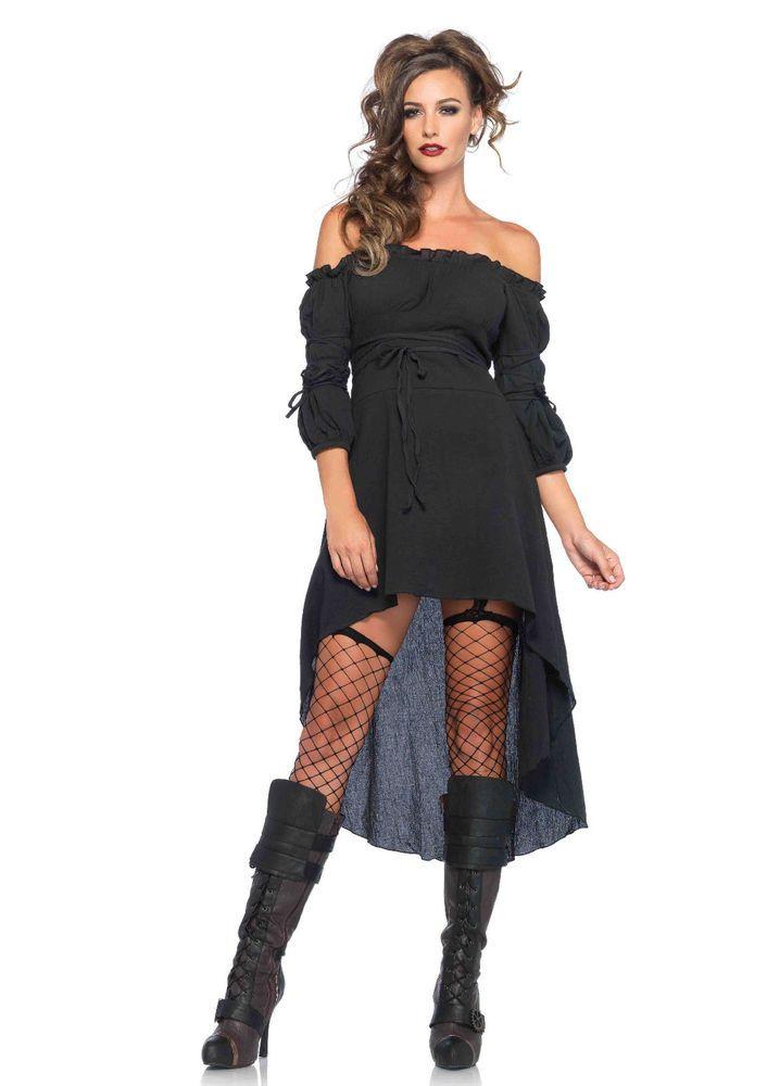 New Leg Avenue 2700 GAUZE PEASANT DRESS #LegAvenue