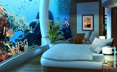 I would love this, underwater hotel Fiji
