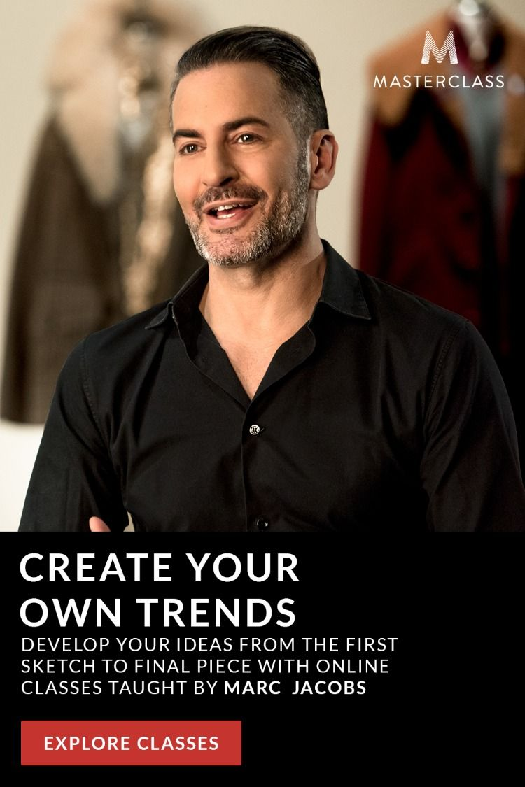 Marc Teaches You How To Design Fashion From Sketching To Runway Collections Fashion Design Classes Fashion Design Master Class