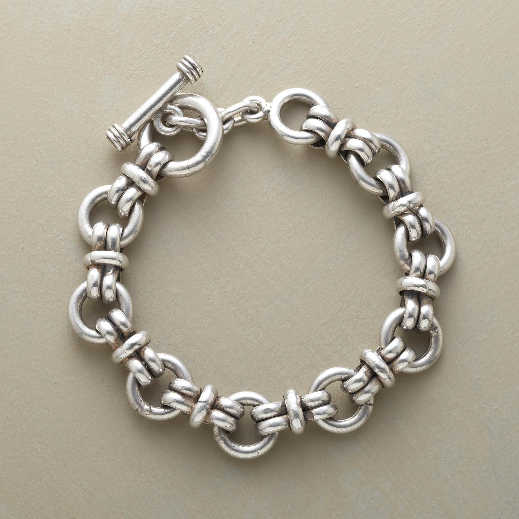 Super link bracelet bold and beautiful our weighty sterling