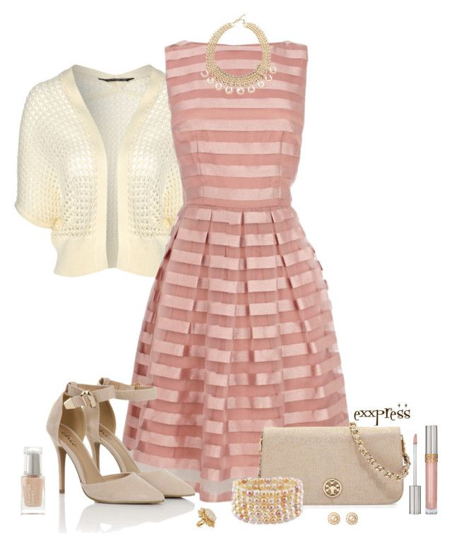 """""""P-P-P-Party Dress"""" by exxpress ❤ liked on Polyvore featuring Stila, Jane Norman, Coast, Tory Burch, Panacea, Miadora, Lele Sadoughi, Leighton Denny, Chanel and outfitonly"""
