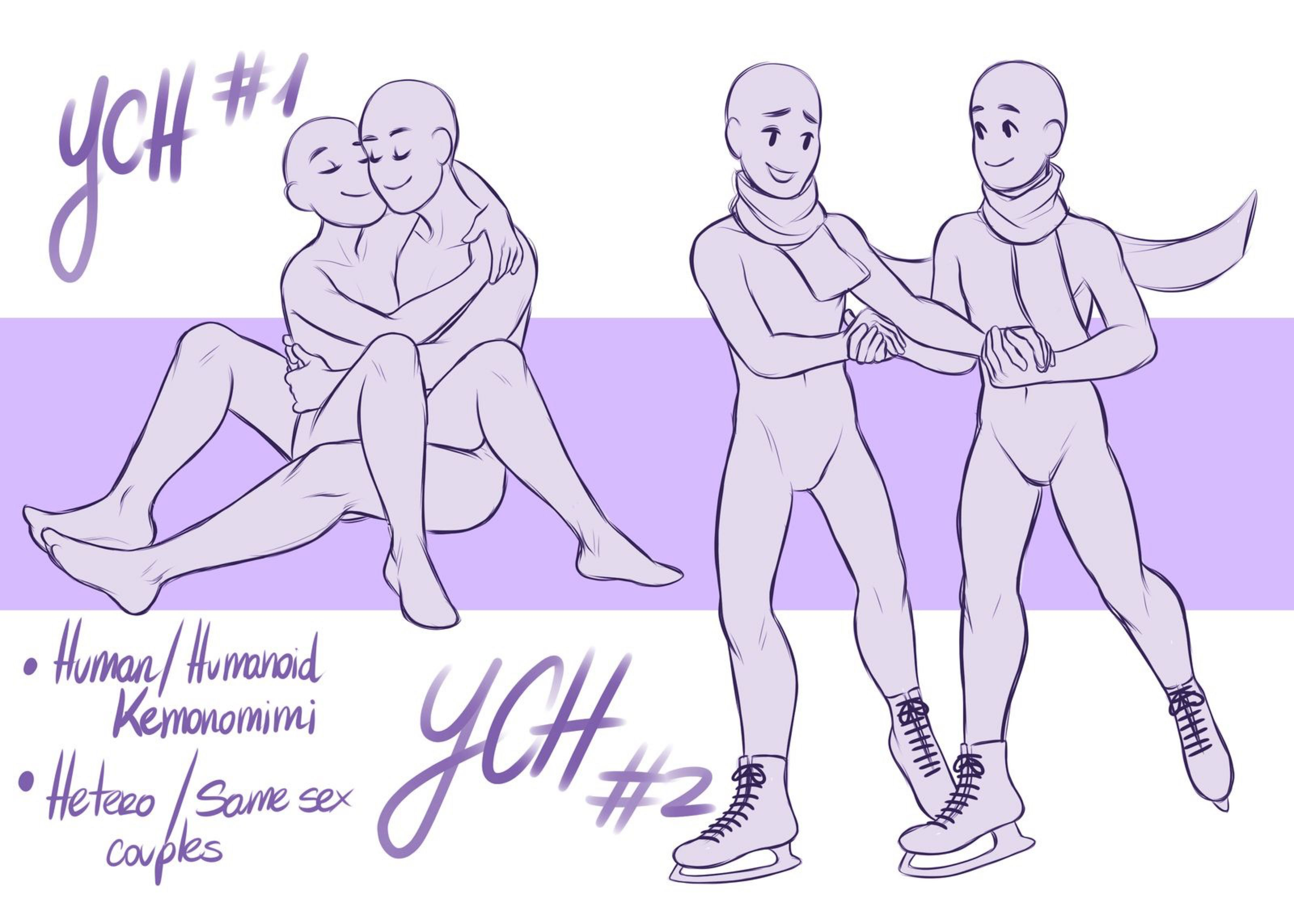 Ych Couple Auction Closed By Marylittlerose On Deviantart Anime Poses Reference Drawing Reference Art Reference Poses