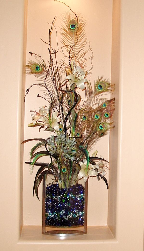 Pea Feathers For Reception Decoration Would Love This As A House Though Too