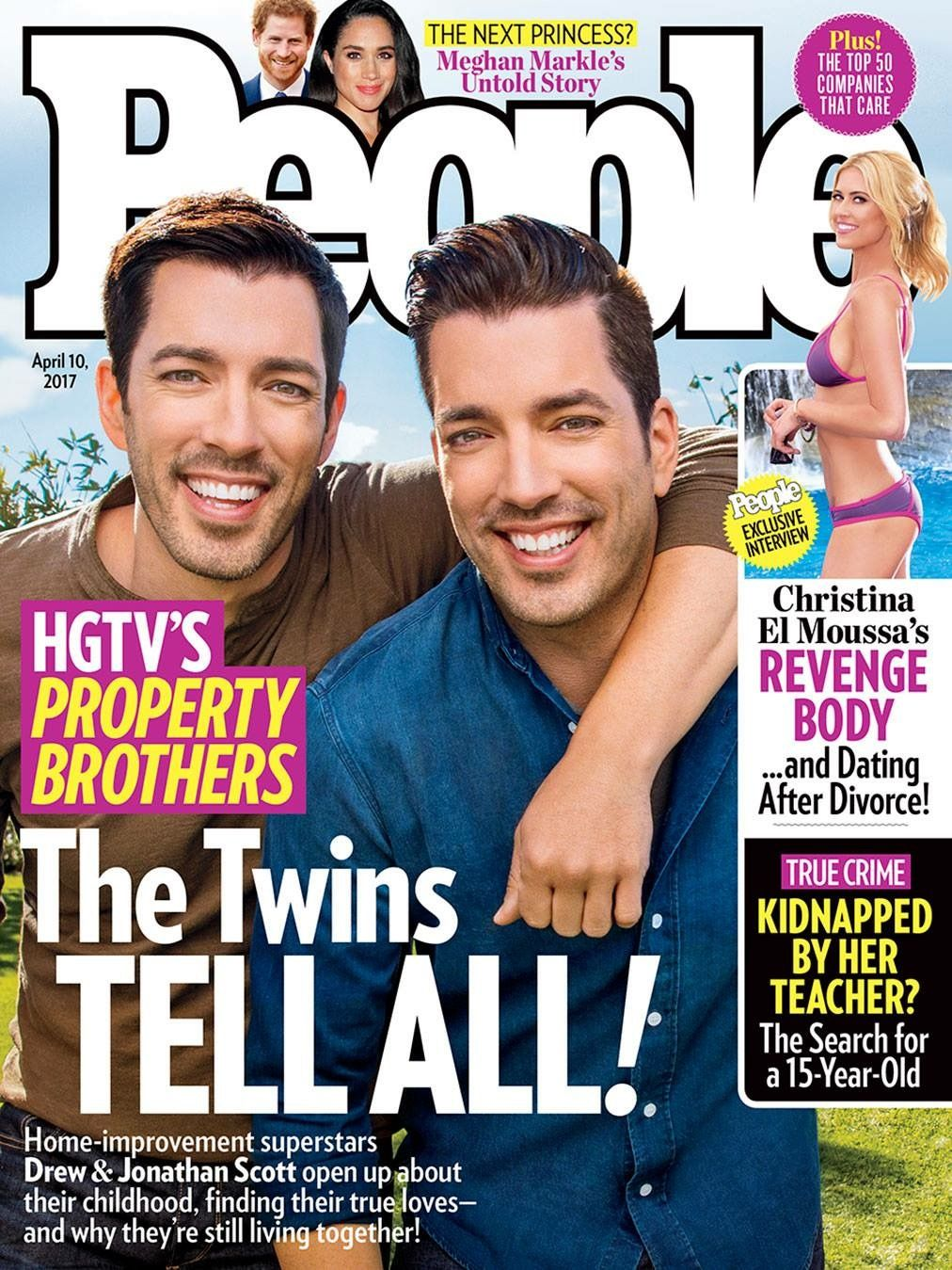 Jonathan Silver Drew Scott On The Cover Of People 39 S