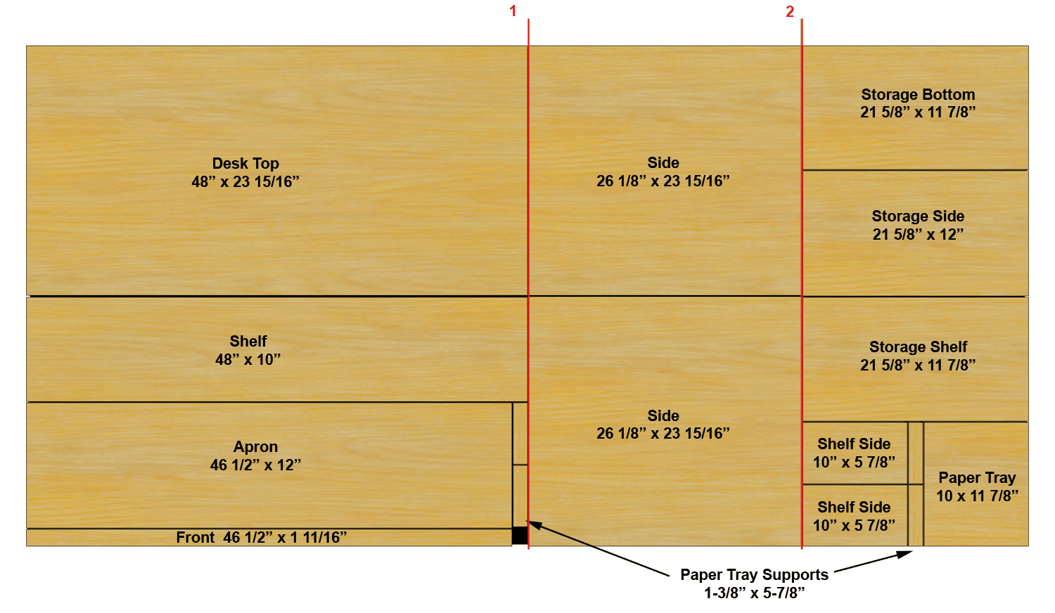 Tips For Making Cabinets Square With A Circular Saw Computer Desk Plywood Sheets Plywood Desk