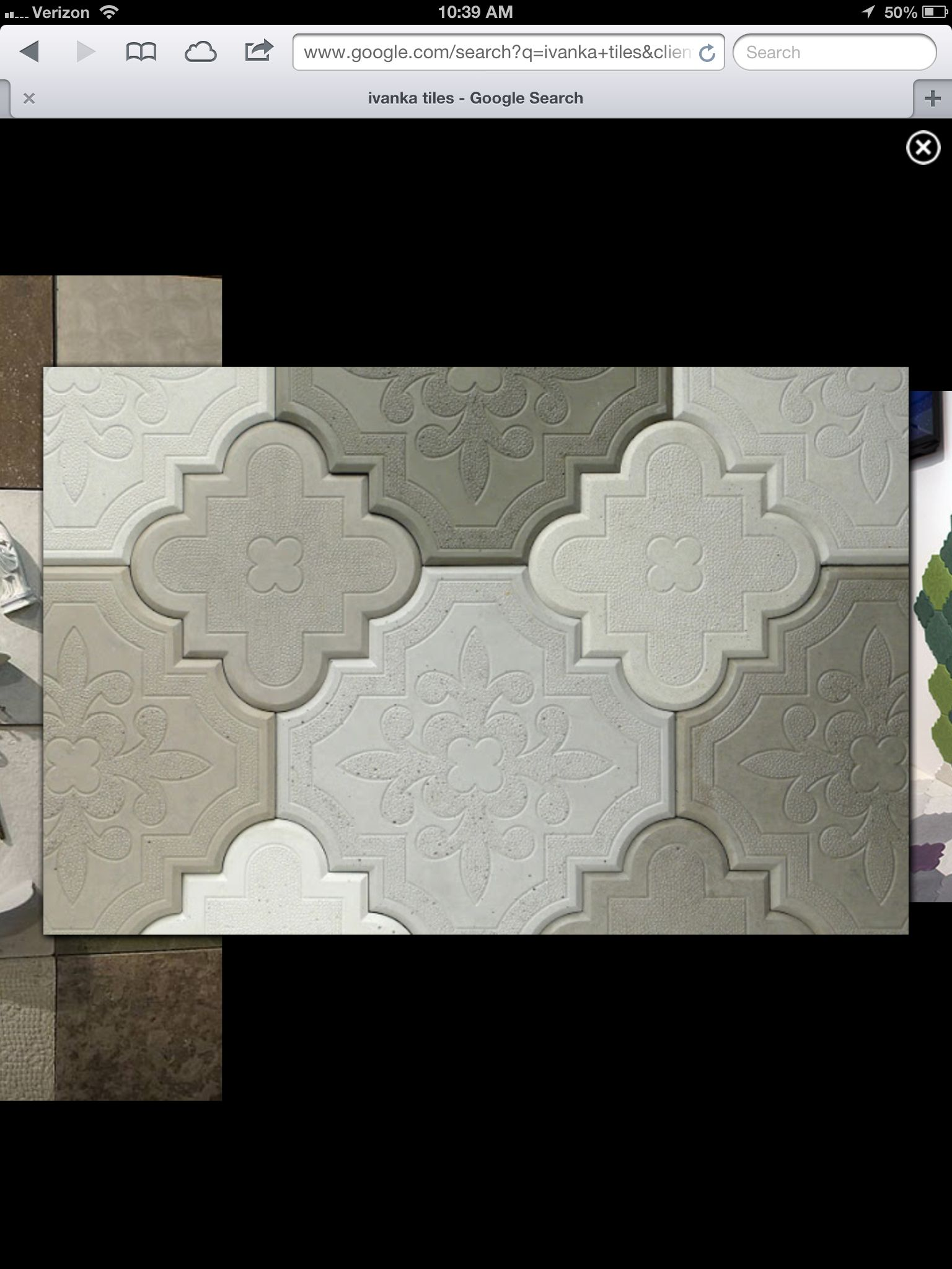 Awesome concrete tile!