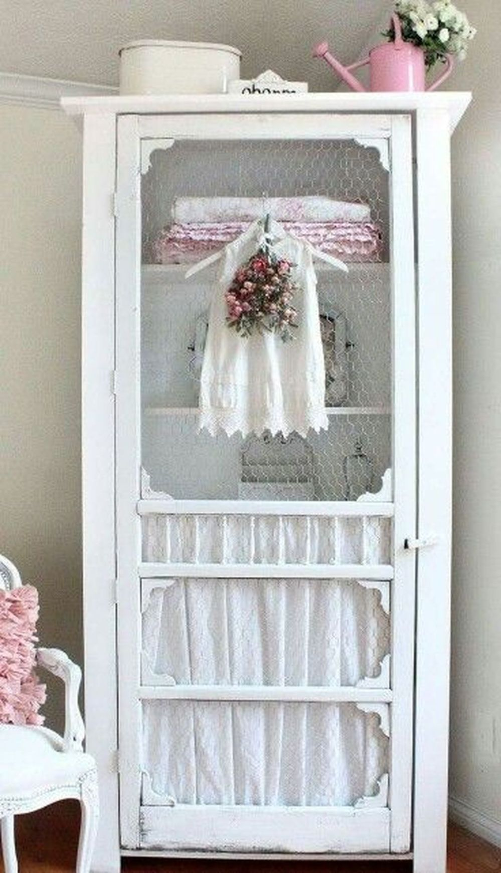 40 Creative Ways To Repurposed An Old Door (25)