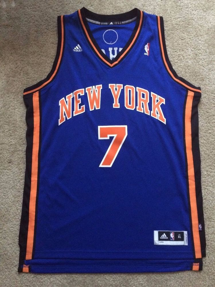 best loved 808c4 a79ef Carmelo Anthony Ny Knicks Jersey (authentic) from $50.0 ...