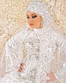 ac557fbdd اجمل فساتين الزفاف للمحجبات، احدث فساتين زفاف محجبات موضة 2016 - 2017، فساتين  زفاف