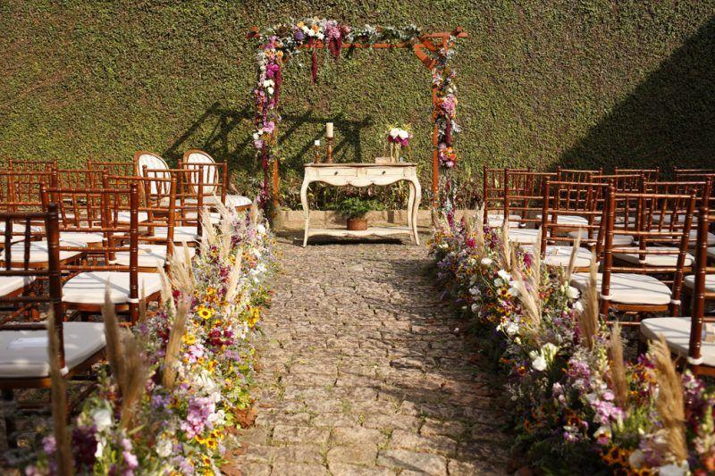 Casamento Colorido No Jardim Casamentos Coloridos Casamento