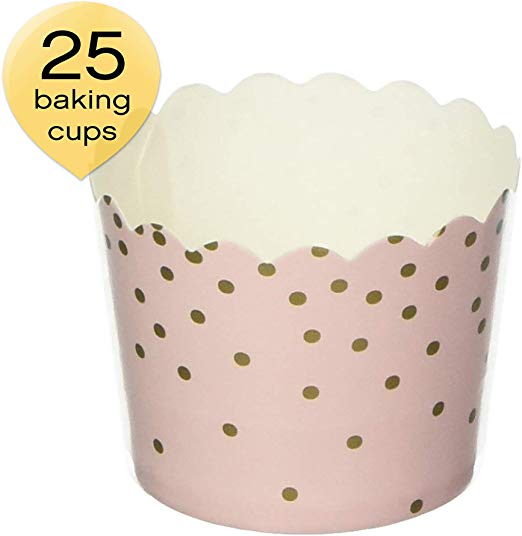 Amazon Com Simply Baked Csm 140 Disposable Paper Baking Cups 25