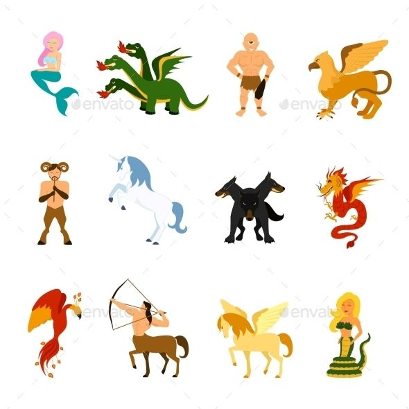 Mythical Creature Images Set In 2021 Mythical Creatures Mythological Creatures Creatures