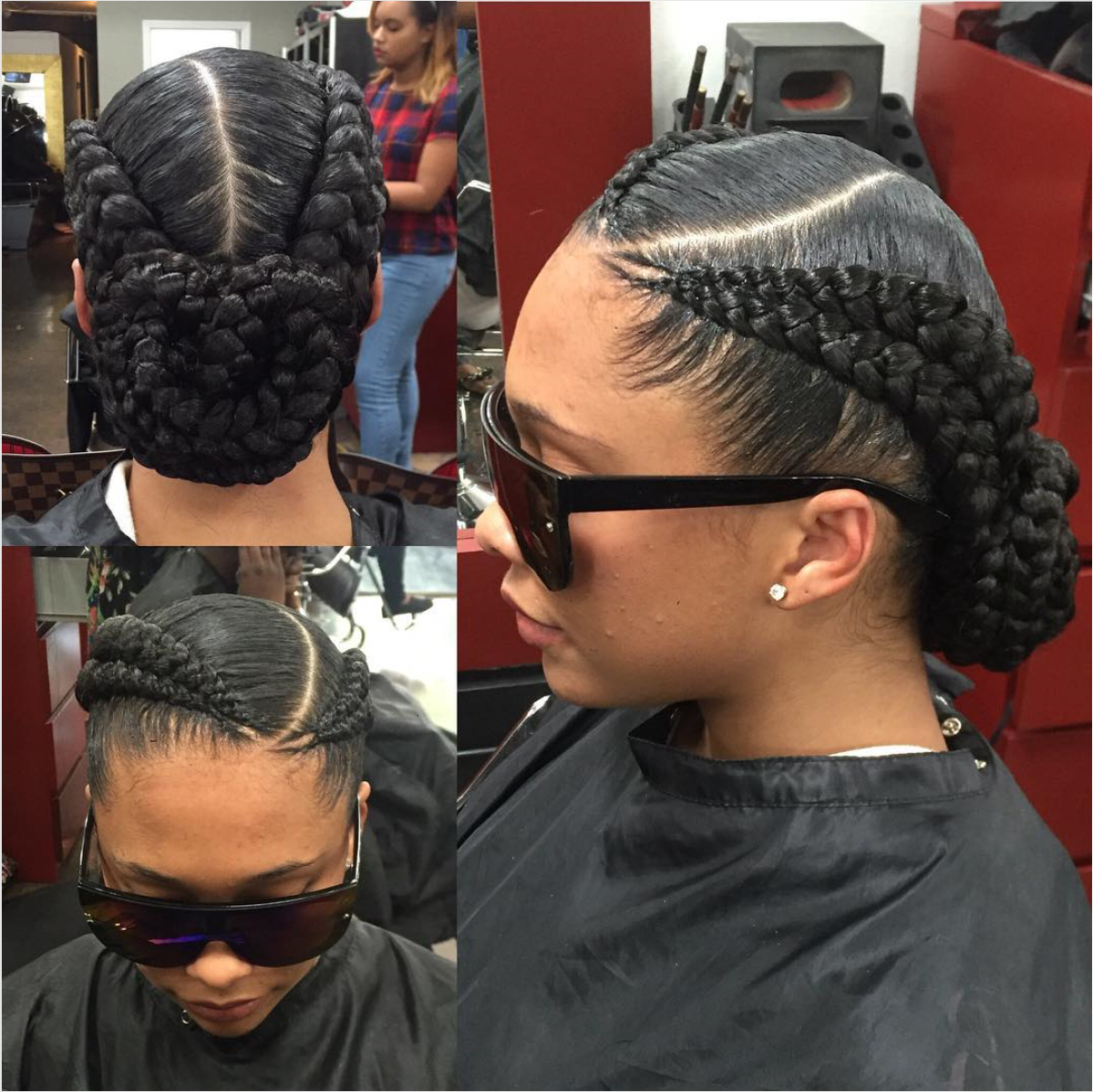 Instagram Post By London Granville O Apr 7 2016 At 855pm UTC 2 Cornrow Braids2