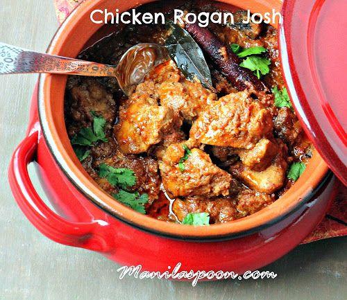 Chicken Rogan Josh Manila Spoon Recipes To Cook In 2018