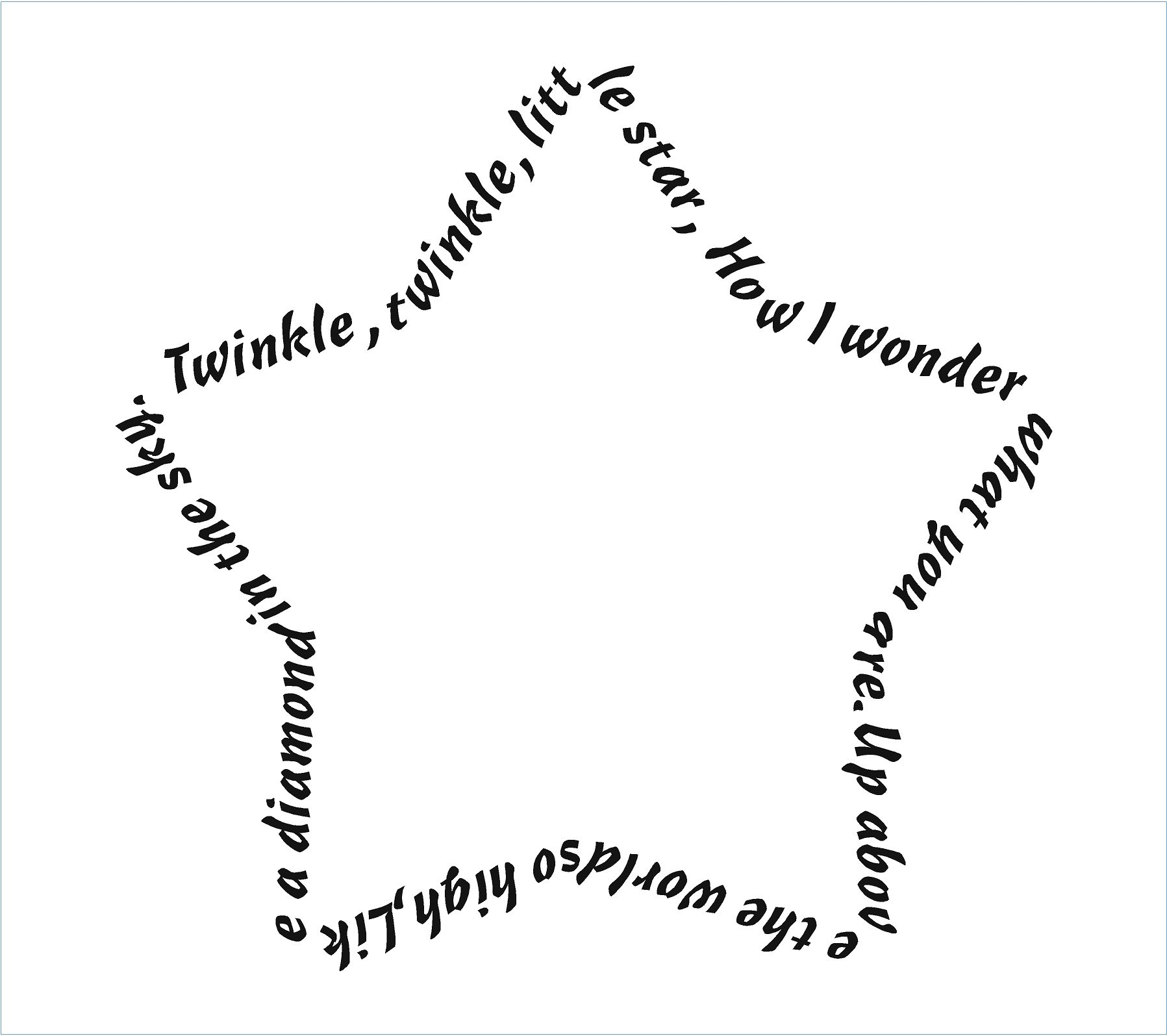 twinkle twinkle little star coloring page - twinkle twinkle little star c utare google twinkle